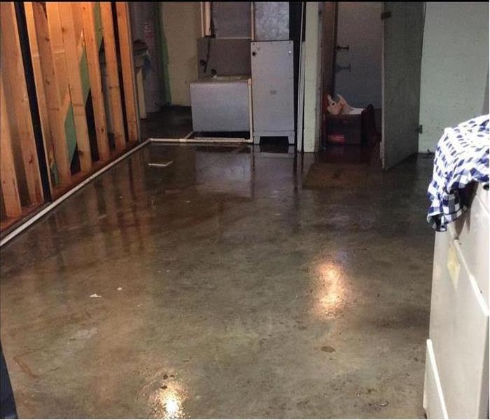 Flooded Basement in Trenton, OH Home After