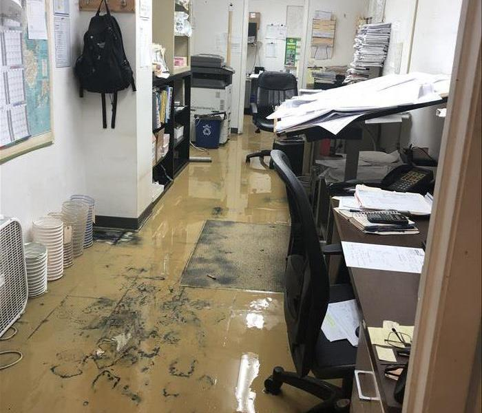 Office Space Flooded